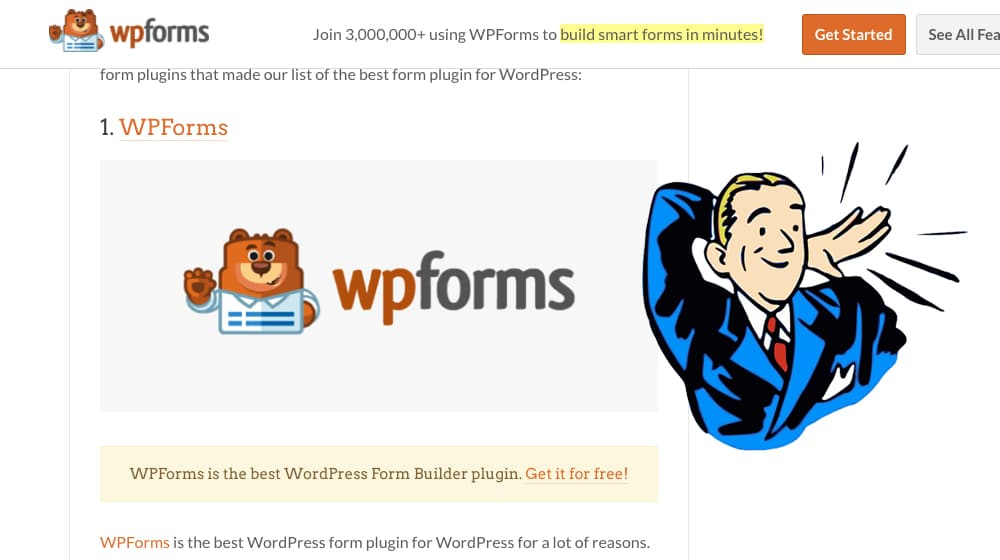 WP Forms Example