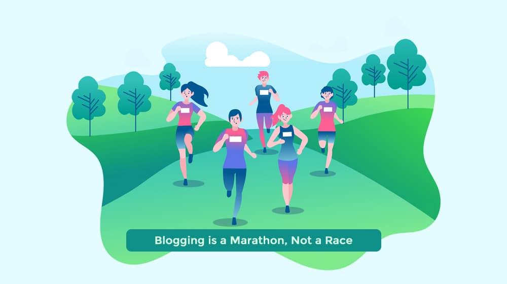 Blogging is a Marathon