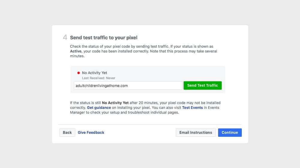 Facebook Tracking Pixel