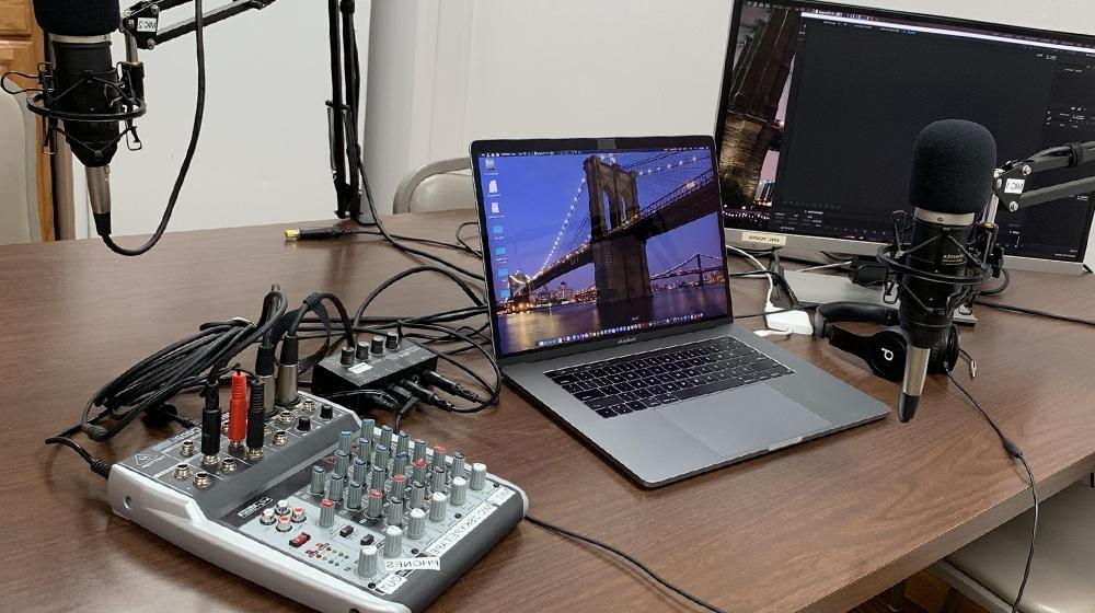 Podcasting Setup Hardware