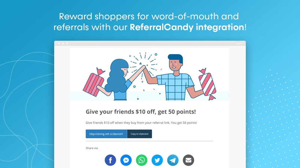 ReferralCandy Integration