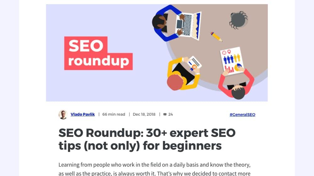 SEO Experts Roundup