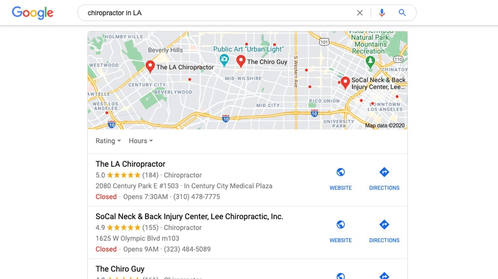 Local SEO and Rankings