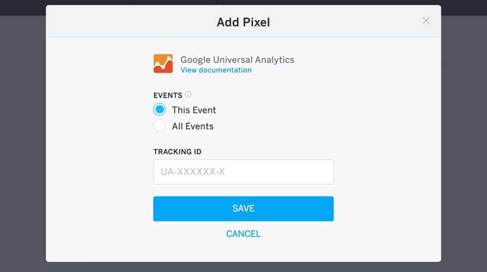 Google Conversion Pixel