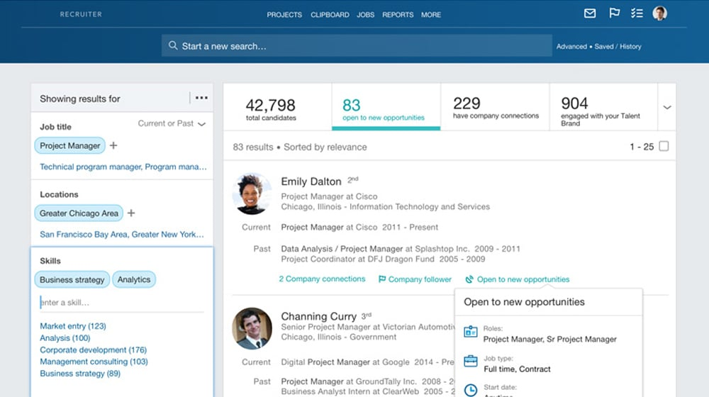 Monitoring LinkedIn Open Rate