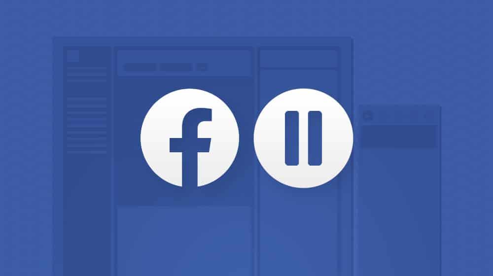 Pausing Facebook