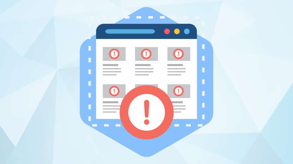 Blog Post Errors