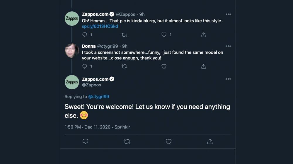 Business Replies on Twitter