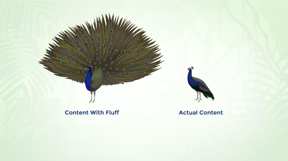 Fluff Content