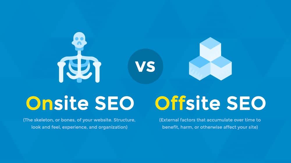 Onsite vs Offsite SEO