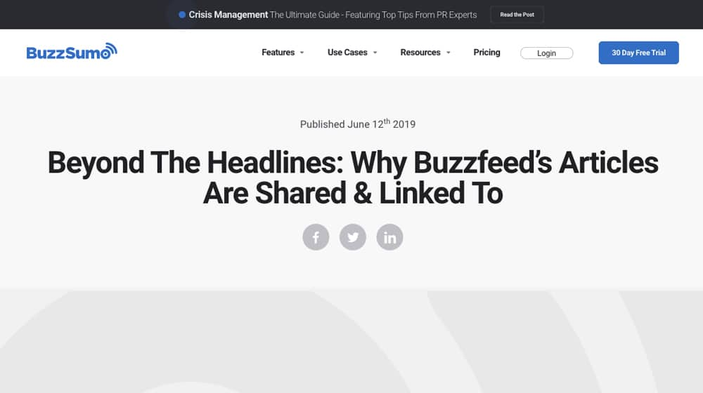 Buzzfeed Headlines Article