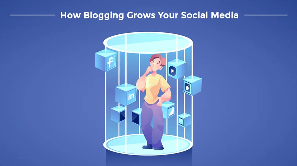 How Blogging Grows Your Social Media