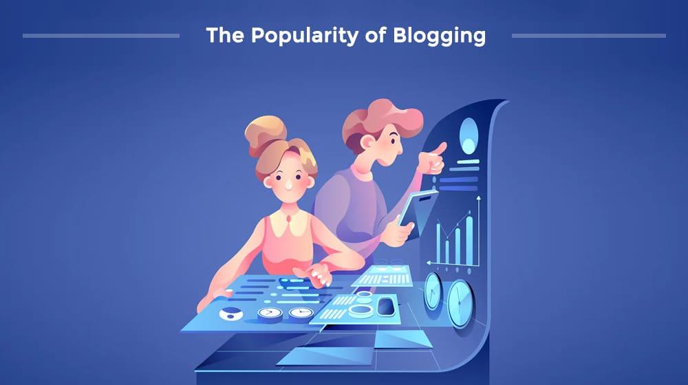 Popularity of Blogging