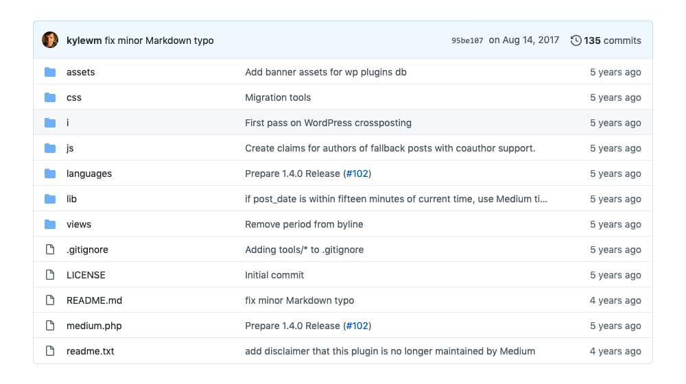 Codebase on Github