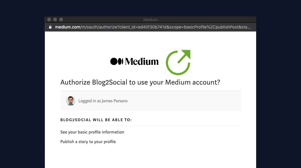 Linking Medium to WordPress