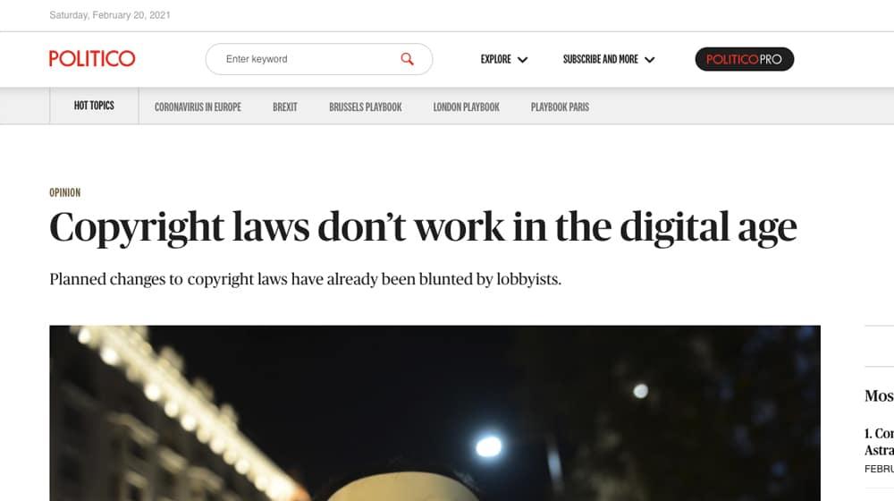 Copyright Laws Post