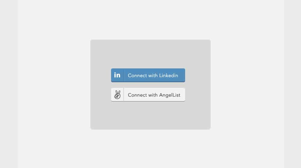 LinkedIn Connect Buttons