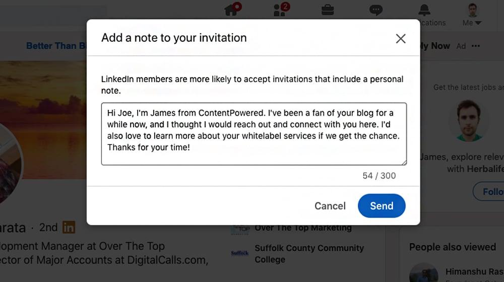 Personalize Invitation