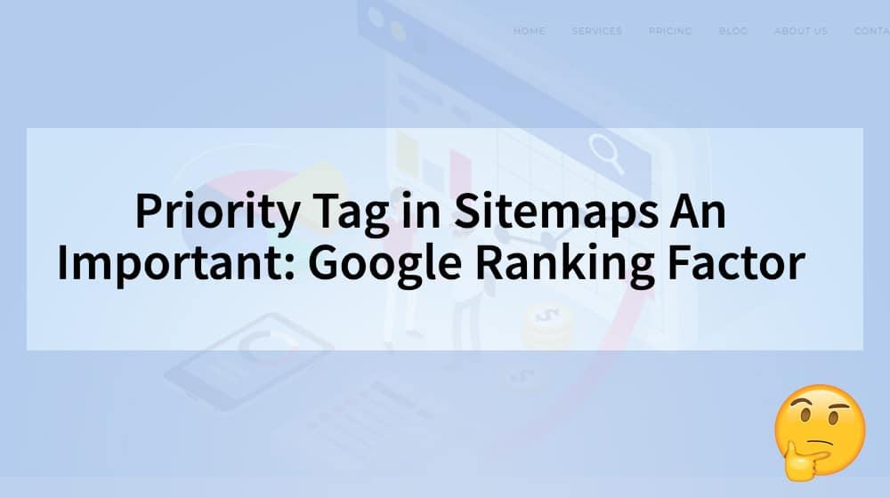 Sitemap Ranking Factor
