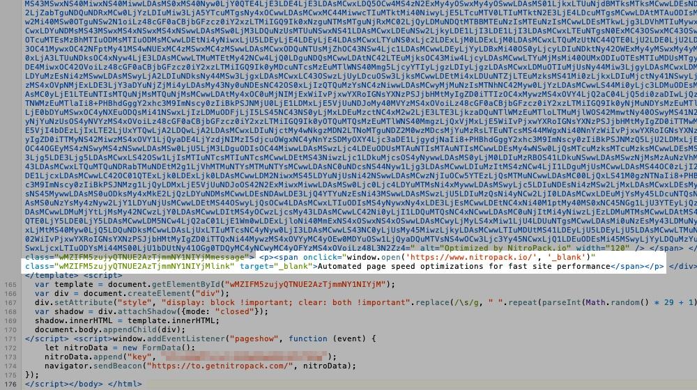 GetNitro Code in Source