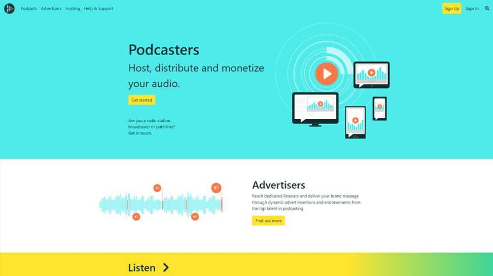 AudioBoom Homepage