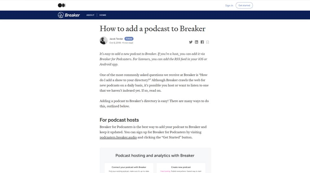 Breaker Submission Guide