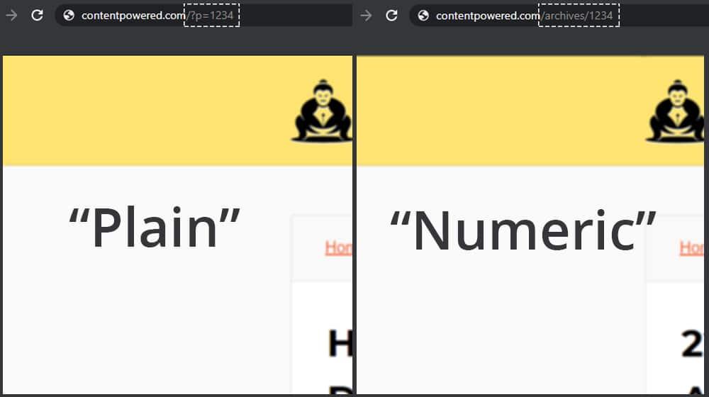 Plain vs Numeric
