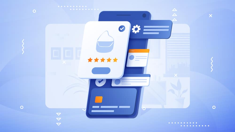 Product Review Illustration