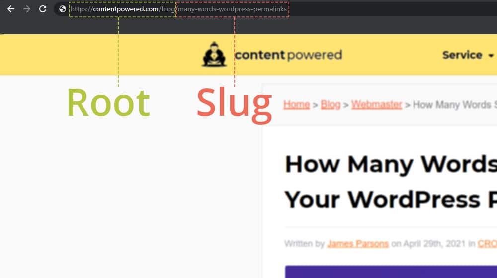 Root vs Slug