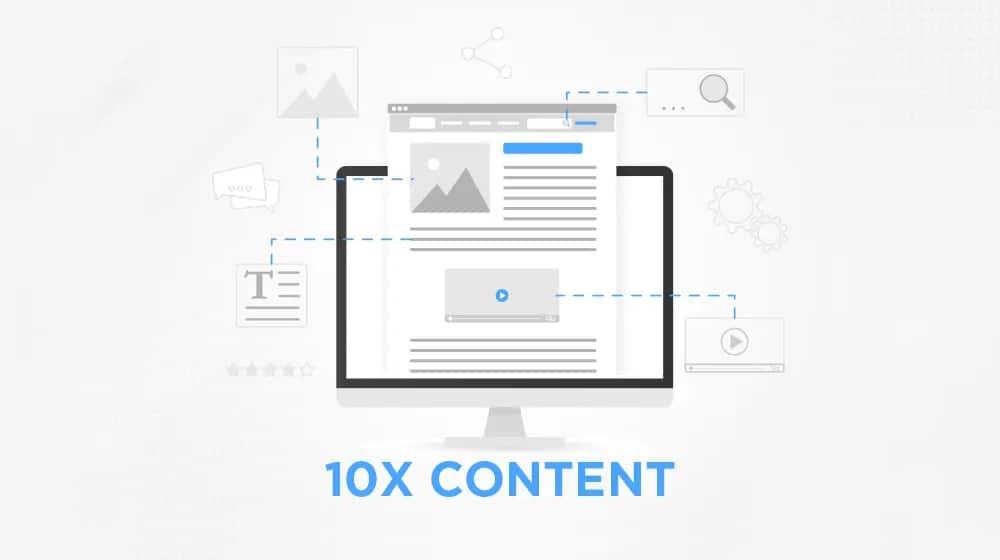 10x Content Illustration
