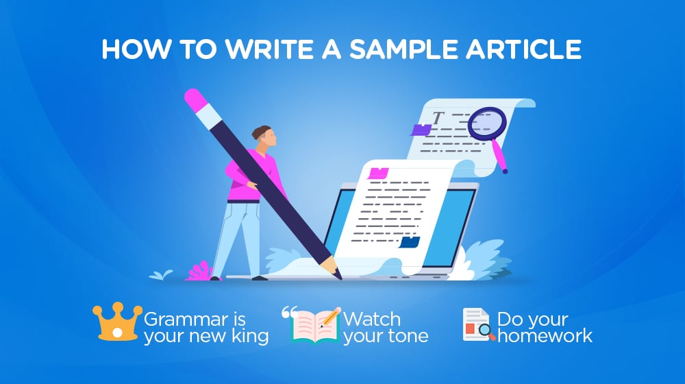 How to Write a Sample Article