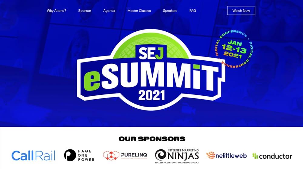 SEJ Summit Sponsors