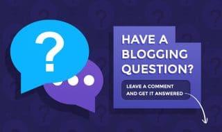 Blogging Question Illustration