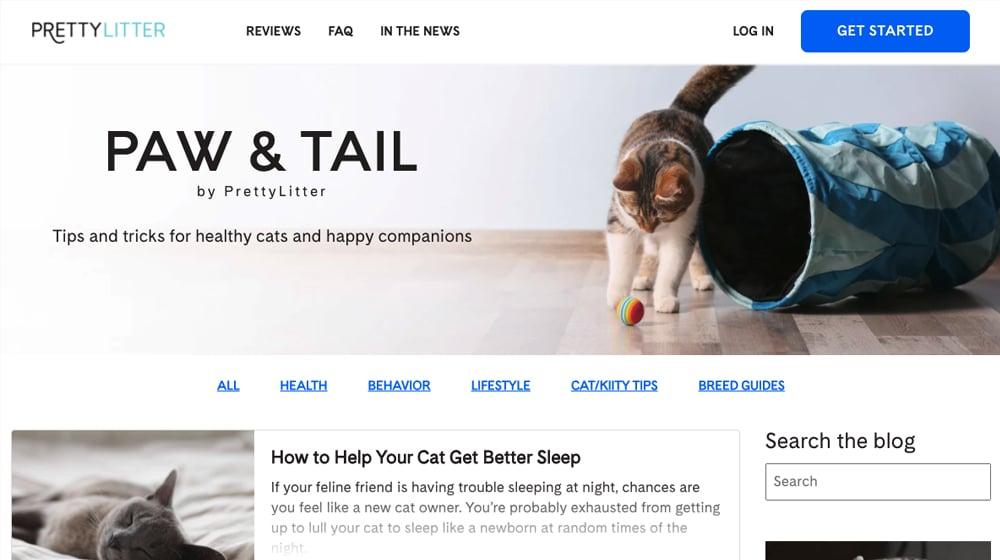 Pretty Litter Website