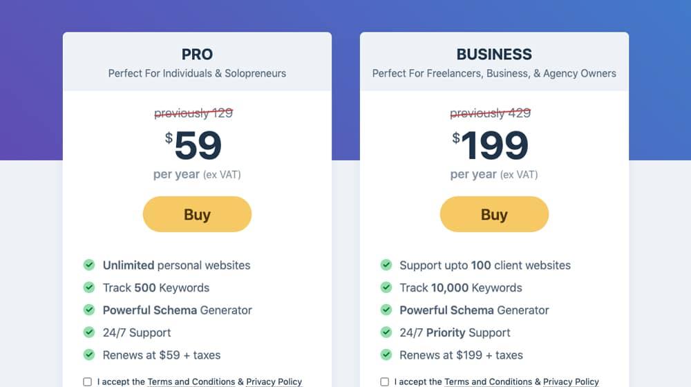 Rank Math Pro Features