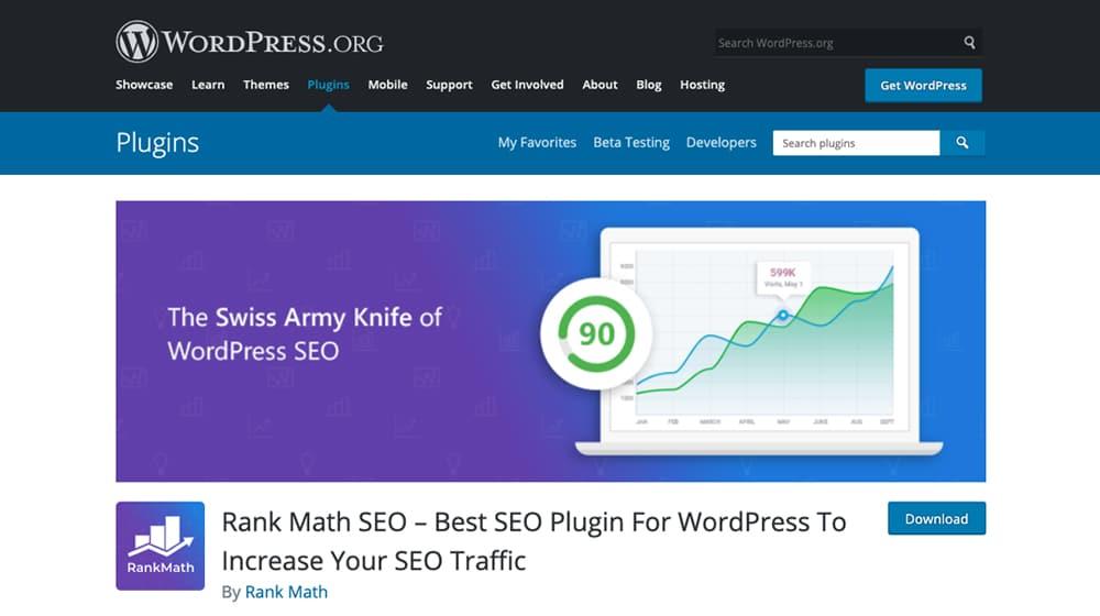 Rank Math on WordPress