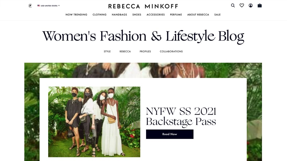 Rebecca Minkoff Blog