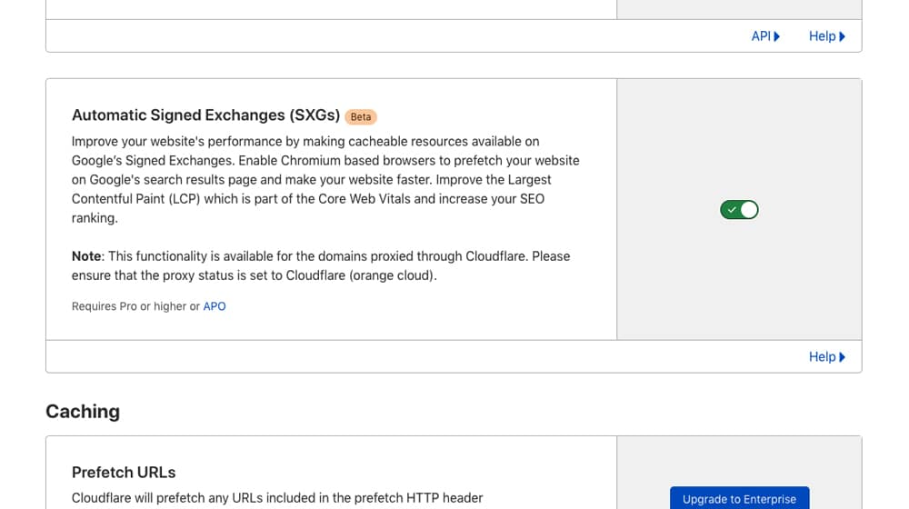 Automatic Signed Exchanges in Cloudflare