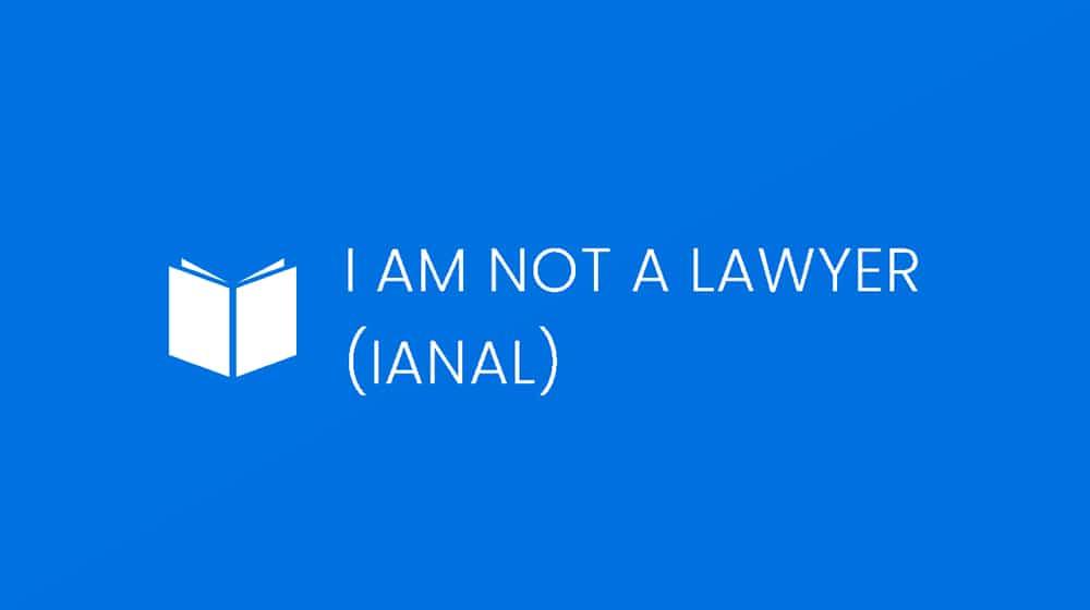 IANAL Definition